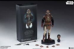Sideshow 12quot;Star Wars LANDO CALRISSIAN SKIFF GUARD 1 6 Scale Figure100429 Sealed $241.00