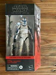 Star Wars Black Series Clone Trooper Lieutenant Exclusive New and Sealed Read $30.00