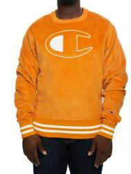 Champion Men#x27;s Corduroy Crew Sweatshirt X Large $27.99
