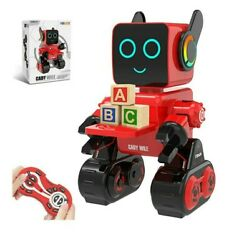Robot Toy Remote Control Robot Toy for Kids Intelligent Programming RC Robot $37.99