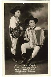 Jimmie Dick quot;The Novelty Boysquot; WEEI Radio Photograph Country Music $25.00