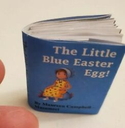 Miniature book Little Blue Egg amp; mini doll Easter for Betsy McCall Hitty Look $20.00