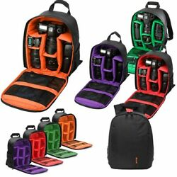 Large Camera Backpack Bag for Canon Nikon Sony DSLR amp; Mirrorless by Altura Photo $13.29