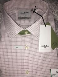 Goodfellow Co Mens Dress Shirt Button Down Smoked Pink XLarge New With Tags $15.00