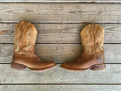 Justin#x27;s Boot Gil in Golden Brown 8.5D 2831 Made in USA $40.00