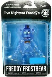 New Sealed Five Nights at Freddy#x27;s Articulated Freddy Frostbear Action Figure $17.99