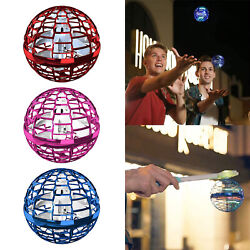 Hand Induction Flying Ball LED Light Mini Drone Toy Gift Anti Collision $25.59