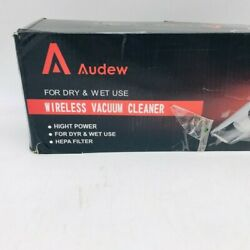 Audew Portable Handheld Wireless For Dry And Wet Use Car Vacuum Cleaner $29.99