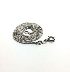 Vintage Silver Chain 16quot; Italy .925 Sterling Silver $22.00