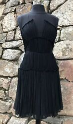 Cynthia Steffe Black Cocktail Dress Size 6 Small Fabulous