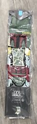 Stance Star Wars Boba Fett Socks Men's Size Large 9 12 New with Tags $59.99