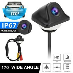 Car Back Parking Assistance Car Camera HD Rear View CAM Night Vision Waterproof $13.35
