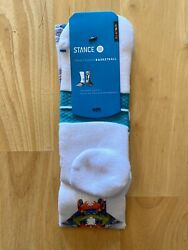 """Stance Men's Fusion Basketball """"The Seventh"""" Athletic Socks L XL 9 13 $11.99"""