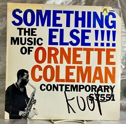 LP: Ornette Coleman Something Else The Music Of Ornette Coleman Contemporary $19.99