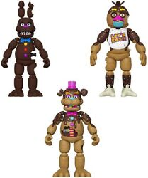 NEW 2021 Funko Five Nights At Freddy#x27;s Chocolate EASTER EDITION 5quot; Figures FNAF $49.95
