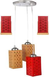 Somil Pandent Hanging Ceiling Lamp five Lamp Colorful amp; Decorative PwS $34.99