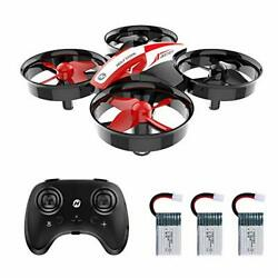 Mini Drone RC Nano Drone RC Helicopter Plane Auto Hovering 3D Flip Headless Mode $50.99