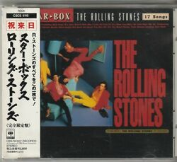 Rolling Stones Star Box Japan CD w obi CSCS 5115 $14.99