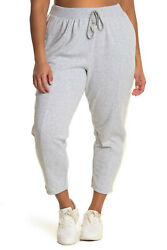 Champion Plus Size Heritage Warm Up Ankle Pants Grey 3X $33.00
