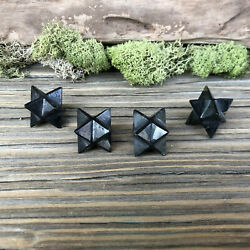 Obsidian Crystal Merkaba 20mm $8.50