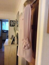 Ladies Classy Long Length Nude Pink Blouse By Next Size 10 GBP 5.99