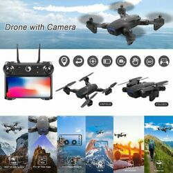 RC Drone with Camera WIFI FPV 4K 1080P HD Foldable Remote Control Quadcopter US $65.99