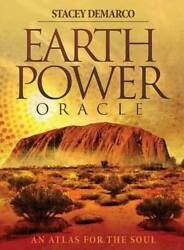 Earth Power Oracle: An Atlas for the Soul Paperback By Stacey Demarco GOOD $18.48