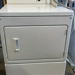 Whirlpool Commercial White Electric Coin Dryer 240 Volt Model CEM2745FQ0 Series