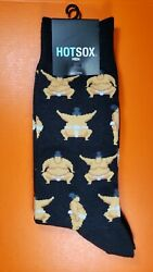 Hot Sox Men#x27;s Novelty Socks Sumo Wrestlers $8.15