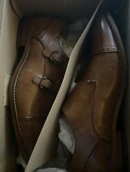Kenneth Cole Mens Men Dress Shoe Cheer Monk Size 9 USA Free Priority Shipping $29.99