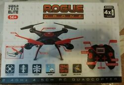 World Tech Elite Rogue Drone Quadcopter 2.4ghz New in sealed box $31.90