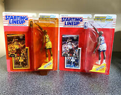 1993 Shaquille O#x27;Neal Rookie Starting Lineup 2 Pc Lot 4 Rookie Cards 🔥🏀 $149.99