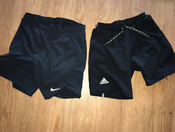 Nike And Adidas Tennis Shorts Medium