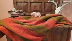 Frazada Rustic rug home Decor Wool Made by Indigenous from the Andes $249.00