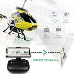 Cheerwing U12S 2.4G RC Helicopter FPV Wifi Remote Control with Camera Drone Toy $35.98