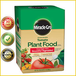 TOMATO FERTILIZER PLANT FOOD Miracle Grow Vegetable Feeds Water Soluble 1.5 LB $12.99