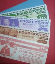 Novelty Food Stamp Book Reprint delayed shipping $5.00