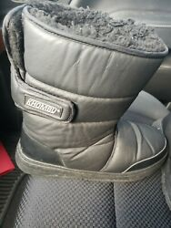 KHOMBU Womens Winter Boots Size 10M normal wear and tear $22.99