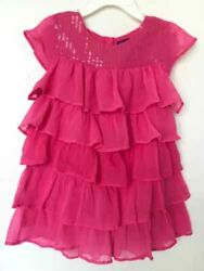 Green Dog girls top tier pink size 5 $6.40