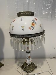 VICTORIAN TABLE LAMP $120.00