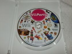 Wii Party for Nintendo Wii 2010 DISK ONLY $39.50