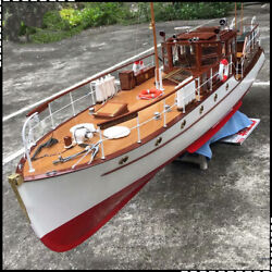 Bluebird of Chelsea Yacht Scale 1 18 1320 mm 52quot; RC Wood Model Ship kit $1200.00