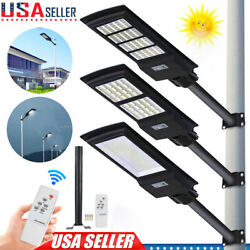 120 150 300W Solar LED Street Light Commercial Outdoor IP67 Security Road Lamp