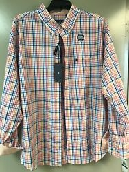 MENS DRESS SHIRT IZOD MULTICOLOR SIZE 2XL BIG amp; TALL $14.90
