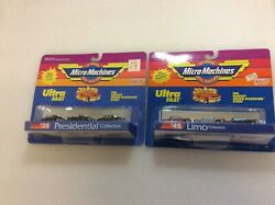 Micro machines #35 presidential collection #45 limo collection lot $29.00