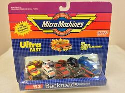 Micro machines # 53 backroads collection nos $80.00