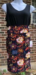 LuLaRoe Women's Cassie Pencil Skirt Size Medium 10 12 Comfy Stretch NWT Floral $16.00
