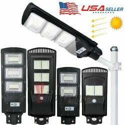950000LM Solar Street Light LED Commercial Outdoor IP67 Area Security Road Lamp