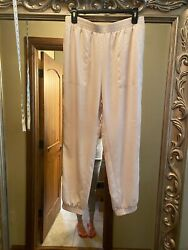 NWT Women's EXPRESS Chic High Waisted jogger Pants M $24.99