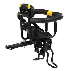 Safety Child Bicycle Seats Bike Front Baby Seats Kids Saddle with Foot F9W1 C $110.53